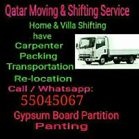Moving/Shifting/ Carpentey,Services
