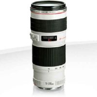 Canon 70-200 f4 like new non is