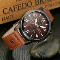 Leather Sports Quartz