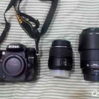 Nikon D7000 with 2lenses 18-55 MM+70-300