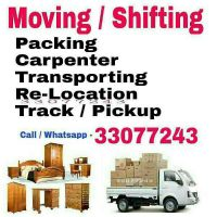 Moving, Shifting & Packing Services