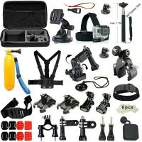 65pcs Gopro accessory kit