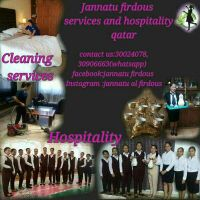cleaning and hospitality