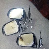 side mirror and front grill