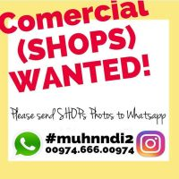 SHOPS WANTED !