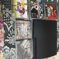 PS3 with 5 games