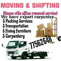 house hold furniture shifting and moving