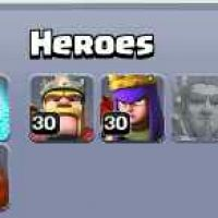 clash of clans with ice wizard