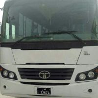 Tata Ac bus model 2013 availabl for rent