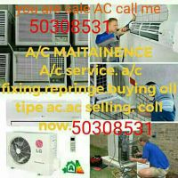 ac servicing and selling and buying