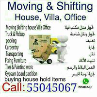 Moving /Shifting /Carpentey,Services
