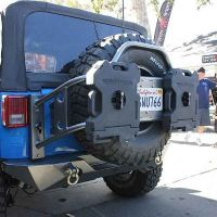 heavy duty tire carrier