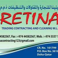 waiter hospitality and cleaning service