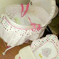 baby bed &food chair