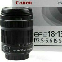 Canon 18-135 STM like new