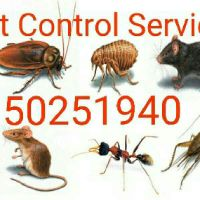 Pest control service anytime call 502519