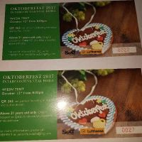 tickets octoberfest 12.10.17 two