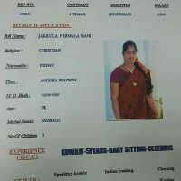 indian maid with experience