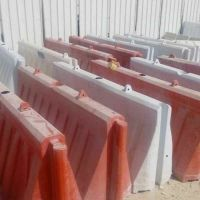 plastic road safety barriers urgent sale