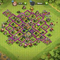 CLASH OF CLANS FOR SALE TOWN HALL 8