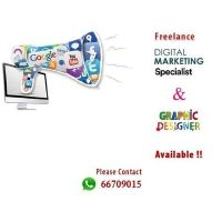 Digital Marketing Specialist available