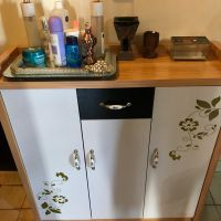 Table and cabinet