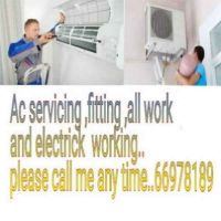 Ac servicing ,fitting ,all work and elec
