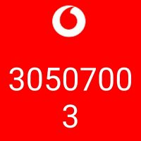2 very good Vodafone number