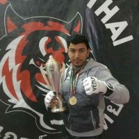 trainer of kick boxing and fitness