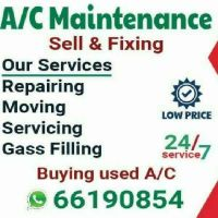 A/c servicing available.  Call- 66190854