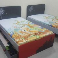 double boys bed room