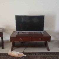 Tv table + 2 side tables
