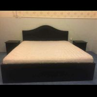 Double Bed with metres
