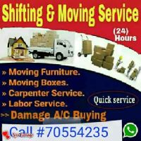 LESS MOVERS