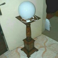 Decoration Stand With Lamp