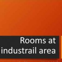 for rent rooms at industrial area