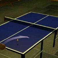 Table tennis table is required