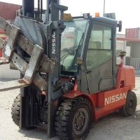 Forklift with extras