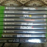 9 Xbox One Cd's For Sale...