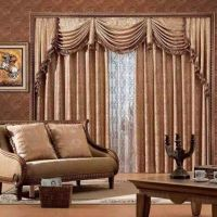 curtain and carpet. sofa all making