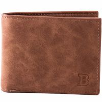 Men brown wallet