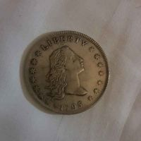 Old american rare coin from year 1795