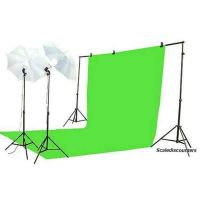 New ! Green Background 3*6m Black