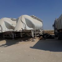 Cement tankers