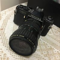 Canon and pentax