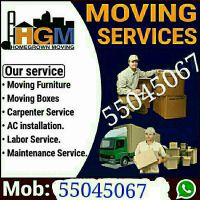 Moving /Shifting /Carpentry, Services