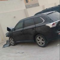 For sale mitsubishi outlander accident