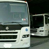 Bus 66 seater for rent 5700