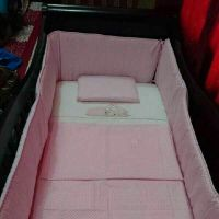 Baby bed, antibacterial Mattress, bed co