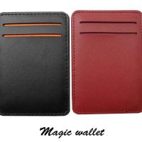 Amazing magic wallet leather